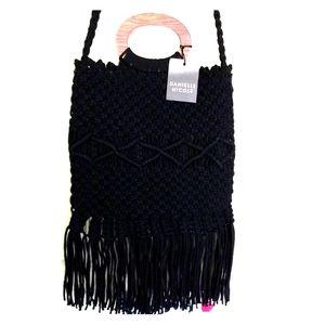 Danielle nicole boho fringed satchel